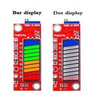10 Segment 5V 12V 24V Battery Capacity Power Level LED Indicator Display 4 color