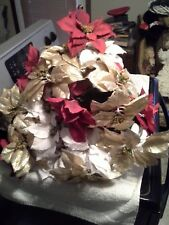 """Lot of (35) Pieces of 27"""" Poinsetta Stems-Traditions with tags"""