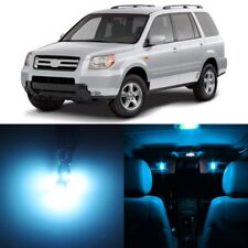 16 x ice Blue Interior LED Lights Package For 2006 - 2008 Honda Pilot +TOOL