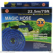 Magic Hose 75 Feet Expanding Garden Hose With Multi-Pattern Spray Nozzle