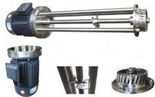 High Shear Mixer 5.5KW Disperser Emulsifier Emulsifying Machine w/ BRH2 II HeadA
