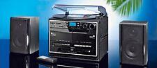 Kompaktanlage Musikanlage DAB+ Encoding Plattenspieler Usb Kassette CD RADIO