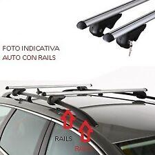 BARRE PORTATUTTO PORTAPACCHI FIAT SEDICI 2005>2014 ALLUMINIO RAILS