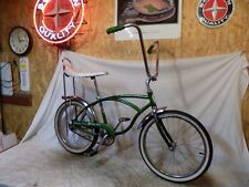 1968 SCHWINN STINGRAY DELUXE BOYS BANANA SEAT MUSCLE BICYCLE GREEN VINTAGE S2!