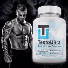 Testo Ultra Testosterone Booster Enhance 60 Capsules Testoultra  Testosterona
