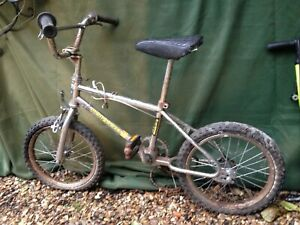 A rare vintage 16 inch Mongoose Mitygoose BMX 1980s - original (for repairs)