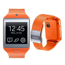 Samsung Galaxy Gear 2 Neo Plastic Case Wild Orange Modern Buckle - Pristine (A)