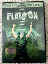Platoon Oliver Stone Vietnam War Drama (Dvd, Mgm, Special Edition) Like New