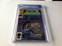 PUNISHER LIMITED SERIES 4 CGC 9.6 WHITE PAGES JIGSAW APP MIKE ZECK MARVEL COMICS
