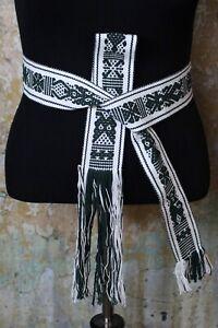 Belts Mexican Hand Woven Jalieza Oaxaca Hippie Peasant Great for Kaftans Huipils