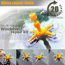 Windscreen Windshield Repair Tool Set DIY Car Kit Wind Glass Chip Crack New