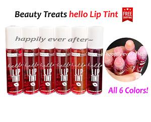 6 PCs Beauty Treats hello Lip Tint Set, Roller Lip Tint, Natural Lip Colors