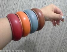 Unbranded Leather Fashion Bangles