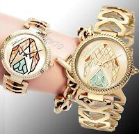 Just Cavalli jc1L045M0065 magnifica armbanduhr damenuhr  farbe gold neu