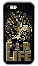 NEW ORLEANS SAINTS PHONE CASE FOR IPHONE XS 11 PRO MAX XR 4S 5 5C 6S 7 8 PLUS