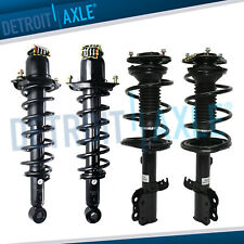 4pc Front and Rear Struts for 2003 2004 2005 2006 2007 2008 Toyota Corolla 1.8L