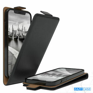 EAZY CASE Protective Case Synthetic Leather Case Book Flip Cover Black