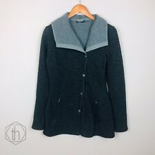 Prana Womens Milana Wool Jacket Small Charcoal