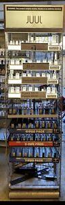 juuls display Rack Case. Cigarette, Tobacco, Vuse