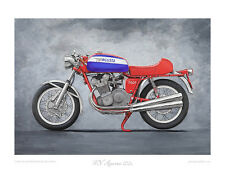 MV Agusta 750s - Limited Edition Classic Bike Print (of 50) poster by Steve Dunn