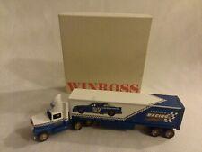 Winross Legends Of Racing 18 Wheeler Model Collectible N I B