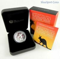 2010 KANGAROO HIGH RELIEF Silver Proof Coin