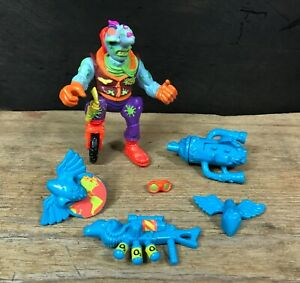 Nozone Toxic Crusaders 1991 Playmates Troma Vintage Action Figure Near Complete