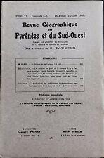 Rev.GEOGRAPHIQUE PYRENEES SUD-OUEST1935-TomeVI F2+3:REGIME GARONNE/PORTSGIRONDE.