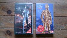 Cassettes Vidéo Michael Jackson History Lot de 2