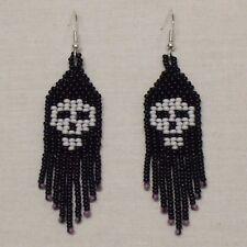 Skulls 2 Bead Earrings
