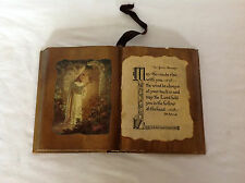 Vintage Shellacked Book with Christ and St. Patrick Gaelic Blessing