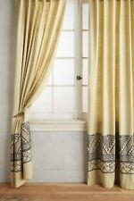 Anthropologie Embroidered Edge Curtain- 50 x 108-$168 MSRP