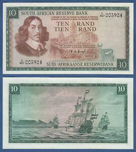 SÜDAFRIKA / SOUTH AFRICA 10 Rand (1975)  UNC P.113 c