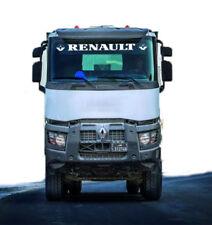 Renault Lorry Truck Windscreen Sticker Decal