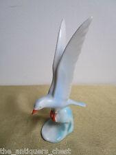 Hollohaza Hungary seagull figurine, 4 3/4[a*2]