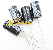 680uF 25/V 105//° ELECTR Capac Fixapart/ /RA