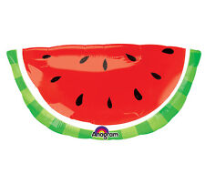 Bright Red WATERMELON Picnic 4th of July BBQ Summer Birthday Party Balloon