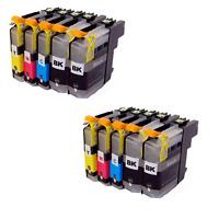 10x  mit CHIP für Brother DCP-J562DW J4120DW MFC-J480DW MFC-J680DW MFC-J880DW