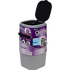 Litter Genie Plus Cat Litter Disposal System. Silver