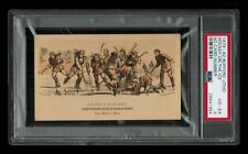 PSA 4 BUFFORD ICE HOCKEY 1879 Victorian Tradecard THE HIGHEST EVER GRADED
