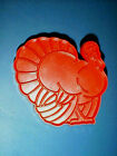 TUPPERWARE Cookie Cutter with Handle THANKSGIVING TURKEY - NEW!