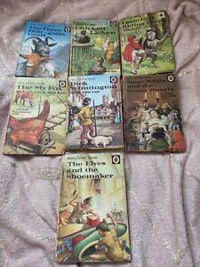 Vintage Ladybird Books 606D X 7 Job Lot