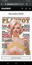 Playboy December 2005 Marilyn monroe Brand New