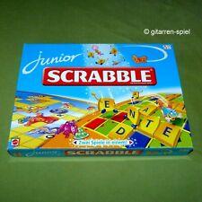 Junior Scrabble  ab 5 Jahren von Mattel Zwei Spiele in einem! 51928 1A Top!
