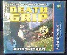 """Used Audio Book """"Death Grip"""" (#9 Defender Series) by Jerry Ahern 5CD Unabridged"""