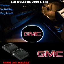 3D GMC Logo Car Door Welcome Laser Projector Wireless LED Shadow Light for GMC