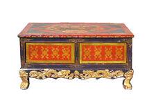Chinese Tibetan Golden Craw Legs Low Coffee Table cs975
