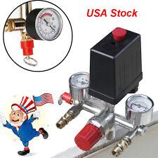 REGULATOR HEAVY DUTY Pump Pressure Air Compressor Control Switch + Valve Gauge