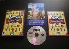 JEU PC CD-ROM : Les Sims 2 JOYEUX NOEL ! Kit (Add on EA COMPLET envoi suivi)