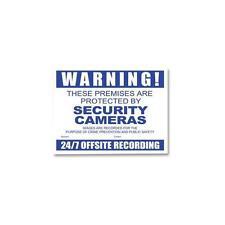 WATCHGUARD - VSCDCC-B - WARNING SIGN CCTV BLUE